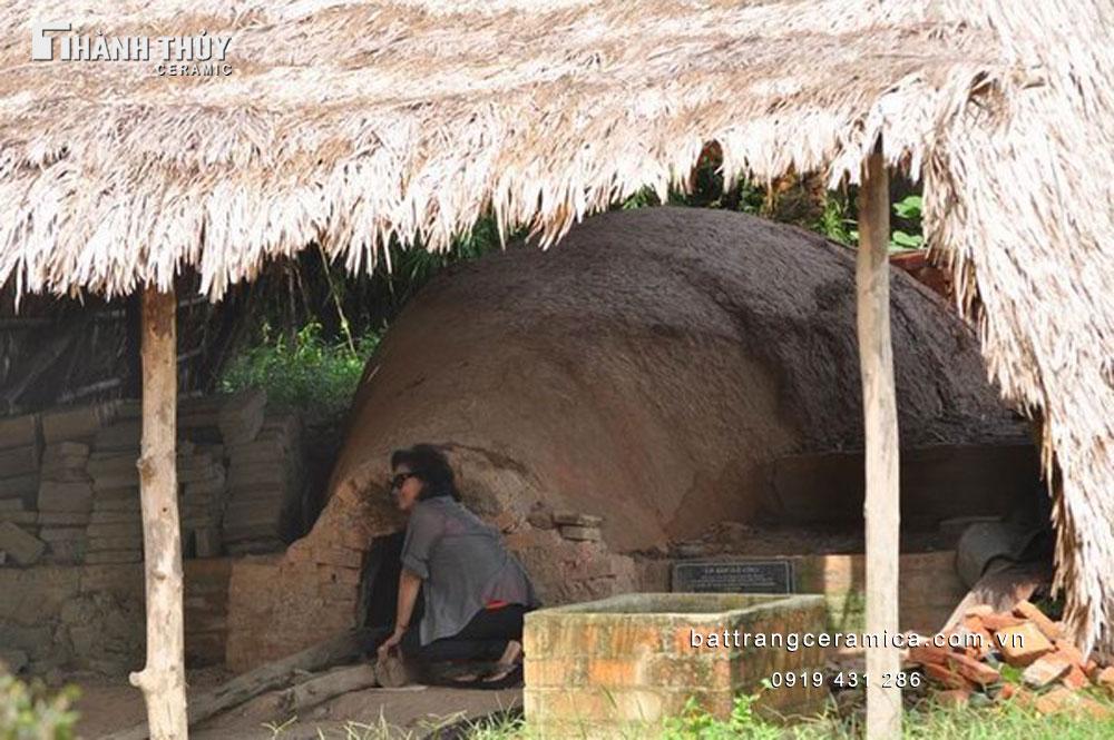 Gốm Bát Trang - lò ếch