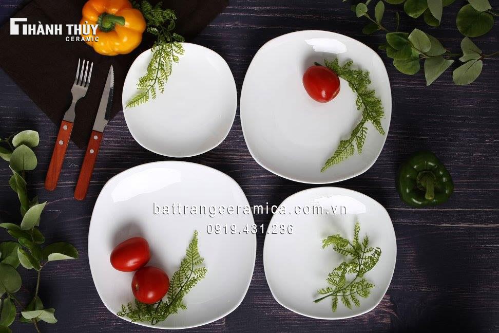 Bộ đồ ăn trắng (2)