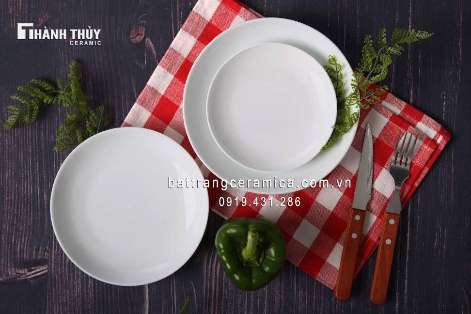 Bộ đồ ăn trắng (8)