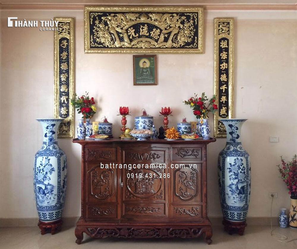 Kinh nghiệm mua đồ thờ gốm sứ Bát Tràng