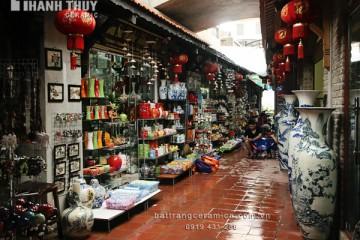 Chợ gốm Bát Tràng – Địa điểm du lịch Hà Nội nổi tiếng