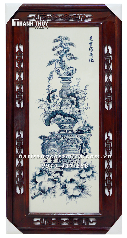 Tranh Cổ Đồ Vẽ Bon Sai (6)