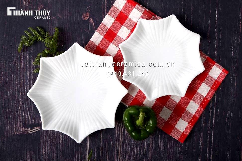 Bộ đồ ăn trắng (5)