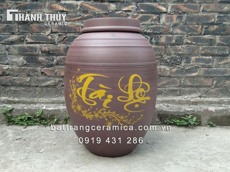 Chum đựng rượu Tài Lộc 50 lít