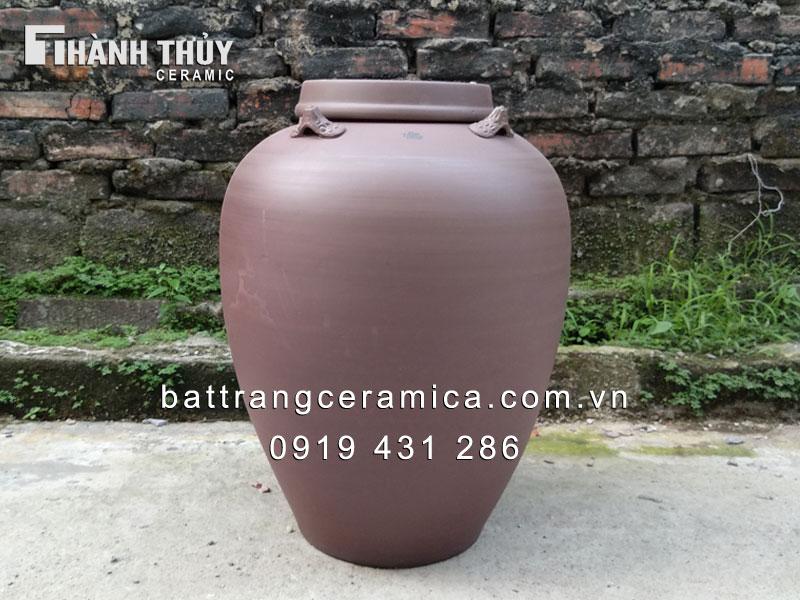 Chum sành Bát Tràng ngâm rượu cao cấp 30 lít
