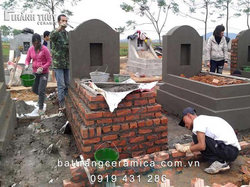Kích thước xây mộ chuẩn phong thủy