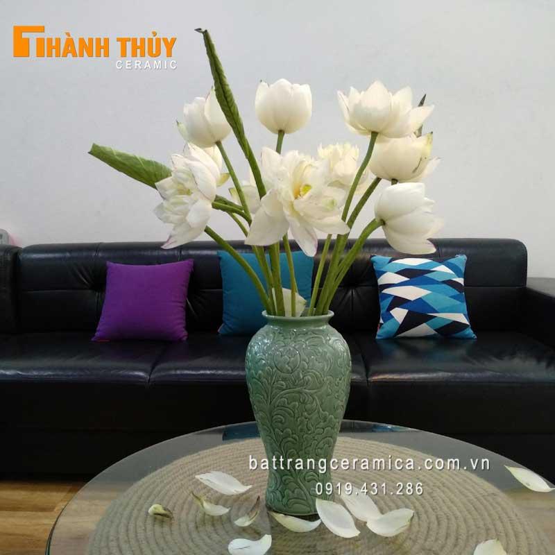 Những cách cắm bình hoa Sen đẹp vạn người mê